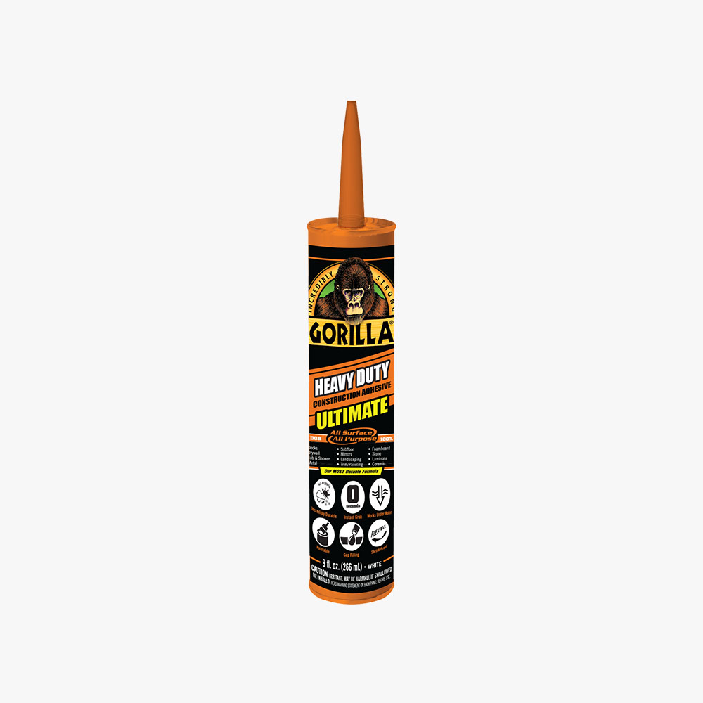 Gorilla Heavy Duty Construction Adhesive ULTIMATE