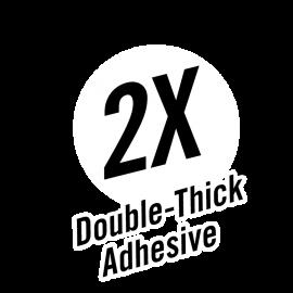 Gorilla Tape White – Double-Thick Adhesive Icon