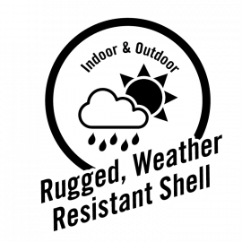 Gorilla Tape White – Rugged Weather Resistant Shell Icon
