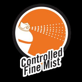Spray—Controlled-Fine-Mist